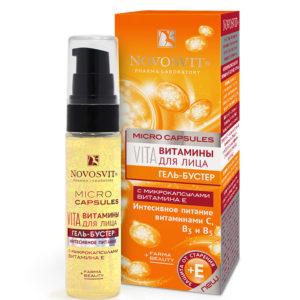Gel Novosvit-booster vitamin đặc dinh dưỡng chuyên sâu vitamin C